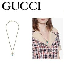 GUCCI(グッチ) lion head necklace ライオンヘッド ネックレス