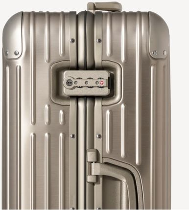 RIMOWA スーツケース 【2018ニューモデル】ORIGINAL/Check-In M/5,4KG/60L/Titanium(3)