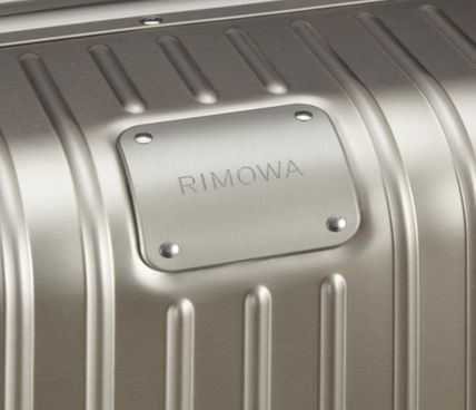 RIMOWA スーツケース 【2018ニューモデル】ORIGINAL/Check-In M/5,4KG/60L/Titanium(4)