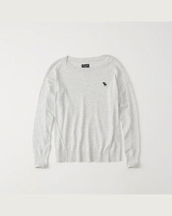 Abercrombie & Fitch ニット・セーター 【*国内即発*Abercrombie & Fitch】  ICON DOLMAN PULLOVER