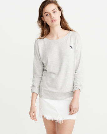 Abercrombie & Fitch ニット・セーター 【*国内即発*Abercrombie & Fitch】  ICON DOLMAN PULLOVER(2)