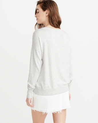 Abercrombie & Fitch ニット・セーター 【*国内即発*Abercrombie & Fitch】  ICON DOLMAN PULLOVER(4)