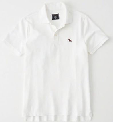 Abercrombie & Fitch ポロシャツ アバクロメンズポロ  STRETCH  POLO