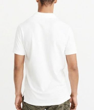 Abercrombie & Fitch ポロシャツ アバクロメンズポロ  STRETCH  POLO(3)