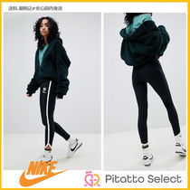 Nike(ナイキ) Archive Leggings In Black With Piped Trim