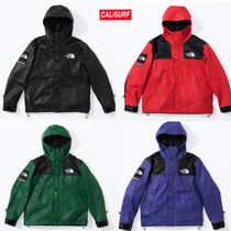 【AW18】Supreme x The North Face / Leather Mountain Parka/S