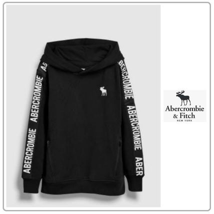 Abercrombie & Fitch キッズ用トップス 大人もOK! Abercrombie&Fitch♡テーピングロゴパーカー