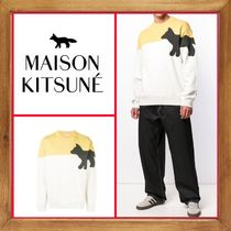 ★★MAISON KITSUNE《 WALKING FOX SWEATSHIRT 》送料込★★