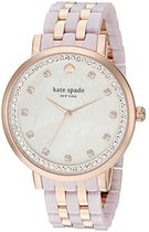 Kate Spade New York Monterey Watch One Size Rose Gold/Blus