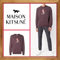 ★MAISON KITSUNE《 FOX CROSS STITCH SWEATSHIRT 》送料込★