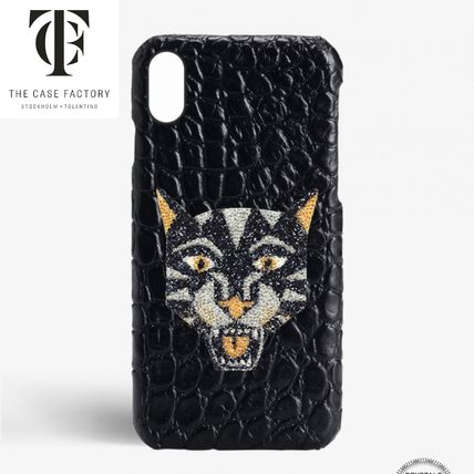 THE CASE FACTORY スマホケース・テックアクセサリー ★THE CASE FACTORY★ iPhone XR スワロフスキー★関税 送料込★