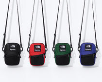 9 WEEK Supreme FW 18 The North Face  Leather Shoulder Bag