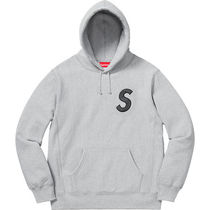 9 WEEK Supreme FW 18 S Logo Hooded Sweatshirt