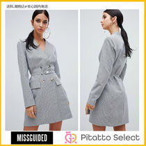 Missguided(ミスガイデッド) double breasted blazer dress
