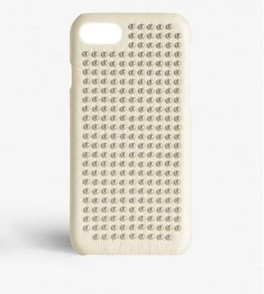 THE CASE FACTORY スマホケース・テックアクセサリー 関税送料込☆THE CASEFACTORY☆IPHONE 7/8 BORCHIE NAPPA IVORY (2)
