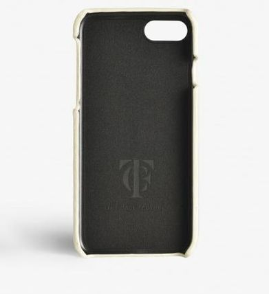 THE CASE FACTORY スマホケース・テックアクセサリー 関税送料込☆THE CASEFACTORY☆IPHONE 7/8 BORCHIE NAPPA IVORY (3)