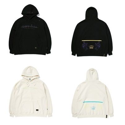 STIGMA パーカー・フーディ STIGMAのGOOD LIFE OVERSIZED HEAVY SWEAT HOODIE 全2色(3)