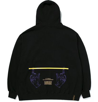 STIGMA パーカー・フーディ STIGMAのGOOD LIFE OVERSIZED HEAVY SWEAT HOODIE 全2色