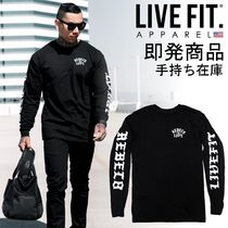 即発・手持ち在庫☆LIVE FIT☆OG's Long Sleeve Tee - Black