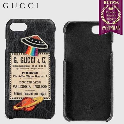 cheap for discount 5bd55 253e0 【正規品保証】GUCCI★18秋冬★GUCCI COURRIER IPHONE 8 CASE