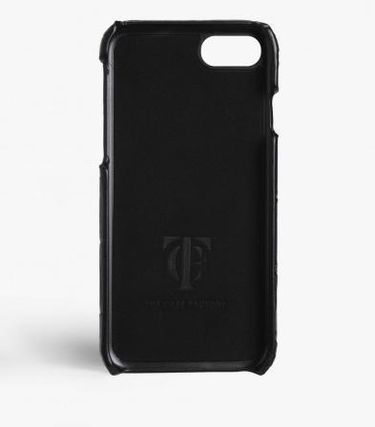 THE CASE FACTORY スマホケース・テックアクセサリー 関税送料込☆THE CASEFACTORY☆IPHONE 7/8CROCODILE NAVY/ORANGE(3)