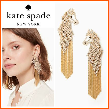 18-19AW!☆kate spade☆wild ones horse statement earrings