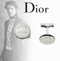 2018AW【Dior】DIOR ATELIER モチーフ シルバー カフリンクス