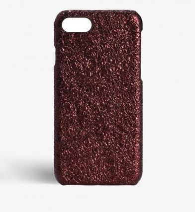 THE CASE FACTORY スマホケース・テックアクセサリー 関税送料込☆THE CASEFACTORY☆IPHONE 7/8 METALLIC BURGUNDY(2)
