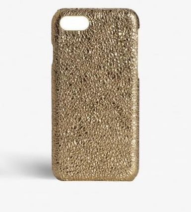 THE CASE FACTORY スマホケース・テックアクセサリー 関税送料込☆THE CASEFACTORY☆IPHONE 7/8CRUSHED METALLIC GOLD(2)