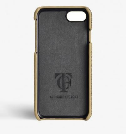 THE CASE FACTORY スマホケース・テックアクセサリー 関税送料込☆THE CASEFACTORY☆IPHONE 7/8CRUSHED METALLIC GOLD(3)