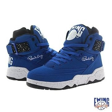 ATMOS × EWING ATHLETICS 33 HI ATMOS BLUE/BLACK/WHITE