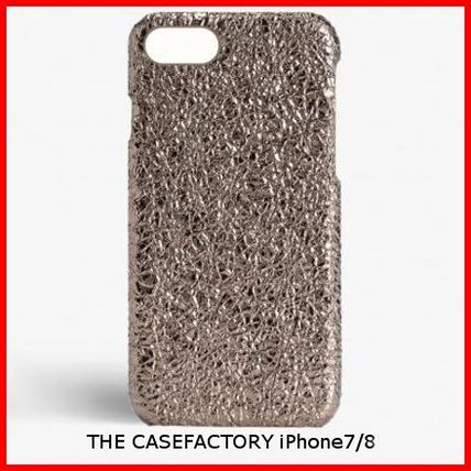 THE CASE FACTORY スマホケース・テックアクセサリー 関税送料込☆THE CASEFACTORY☆IPHONE 7/8CRUSHED METALLIC ROSE