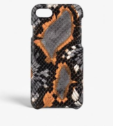 THE CASE FACTORY スマホケース・テックアクセサリー 関税送料込☆THE CASEFACTORY☆IPHONE 7/8 FLORAL PYTHON ORANGE(2)