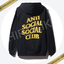 S/ Mサイズ /Anti Social Social Club Black and Yellow Hoodie