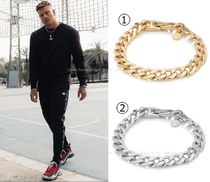 Chained & Able(チェーンドアンドエイブル) ブレスレット 送料税込【Chained&Able】CUBAN LINK CHAIN ブレスレット(2色)