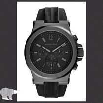 Michael Kors☆Black Dylan Watch★セール