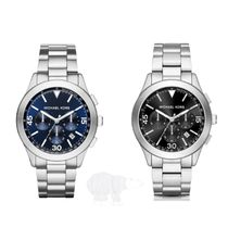 Michael Kors☆Gareth Stainless Steel Chrono Watch★セール