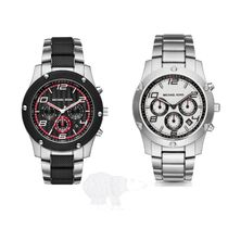 Michael Kors☆ Caine Stainless Steel Chrono Watch★セール