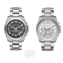 Michael Kors☆Brecken S-Steel Chronograph Watch★セール
