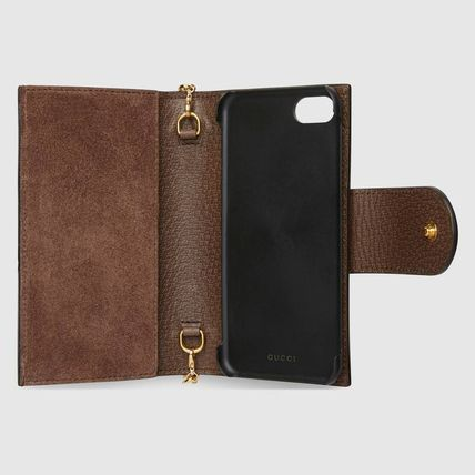 GUCCI スマホケース・テックアクセサリー GUCCI☆Ophidia GG チェーン iPhone 7/8 case☆(3)