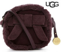 各1点のみ☆UGG(アグ)Bailey Bow Box Zip Suede  Crossbody