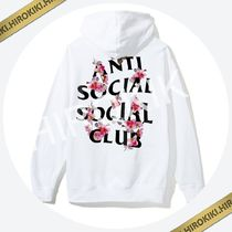 Anti Social Social Club Kkoch White Hoody White ASSC Hooded