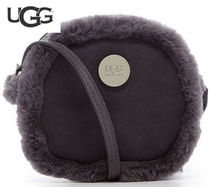 ラスト1点☆UGG(アグ)Bailey Bow  Suede Lamb Crossbody