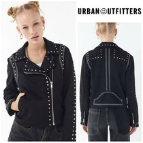 【URBAN OUTFITTERS】●日本未入荷● UO Studded Moto Jacket