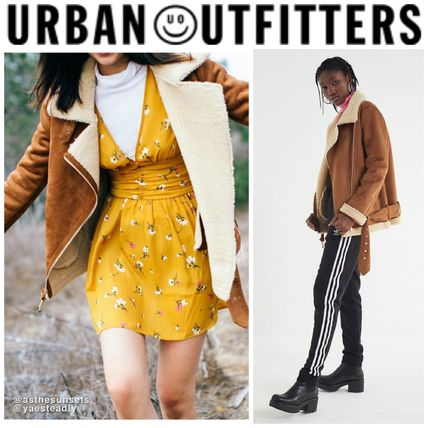 Urban Outfitters ジャケット  URBAN OUTFITTERS ○日本未入荷○ UO Athena Aviator Jacket  ... 407a98ec7