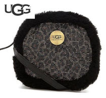 ラスト1点☆UGG(アグ)Bailey Bow Crossbody Glitter & Lamb Fur