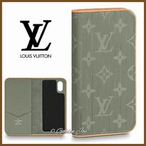 ★Louis Vuitton★セレブ愛用 手帳型 IPHONE X & XS FOLIOケース