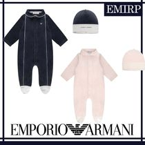 18AW☆EMPORIO ARMANI★BABYS★ベロアベビーグローギフトセット