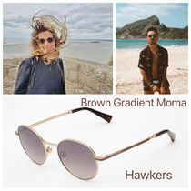 Hawkers(ホーカーズ) サングラス HAWKERS/ Gold/Brown Gradient Moma