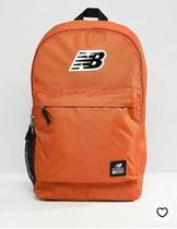 New Balance Logo Backpack In Orange 500387-807